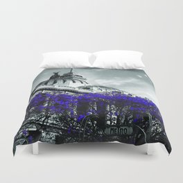 Beaux Art Mexico Duvet Cover