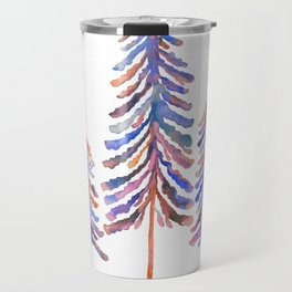 Pine Trees – 90s Color Palette Travel Mug