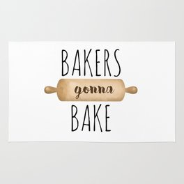 Bakers Gonna Bake Rug