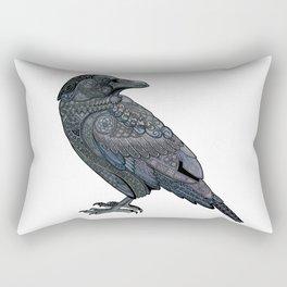 Celtic Raven Rectangular Pillow