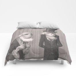 Isaiah and Bartholomew Comforters