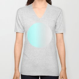 Aqua Ombre Unisex V-Neck