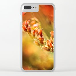 TANGERINE SPANGLES no1 Clear iPhone Case