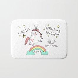 Whatever Bitches JA Huss Bath Mat