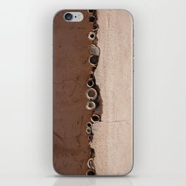 rotated rustic roof iPhone Skin