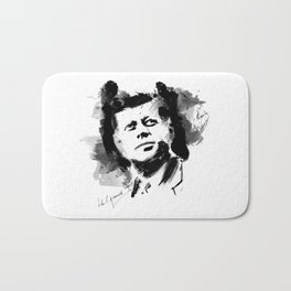 John F. Kennedy JFK Bath Mat