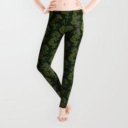 Jade Dragon Leggings