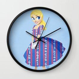 Girl of Liberty Wall Clock