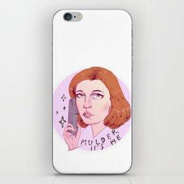 Mulder, it's me iPhone Skin