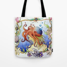 Octopus Wench Tote Bag