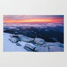 Lenticular Sunset Rug