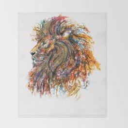 'The King' Throw Blanket