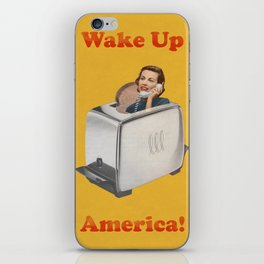 Wake Up Call iPhone Skin