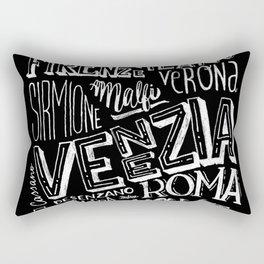 Italia mia Rectangular Pillow