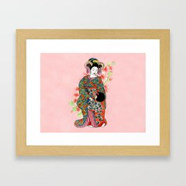 Mother and child I Framed Art Print