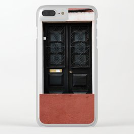 Door No 3 Clear iPhone Case