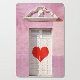 Doorway to love Cutting Board