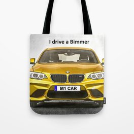 A Bimmer car Tote Bag