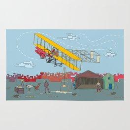 First Flight 1903 Rug