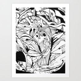 PENING DA VOID Art Print