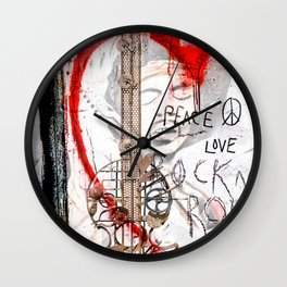 I love Rock'nRoll Wall Clock