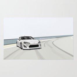 Toyota GT86 Drift Rug