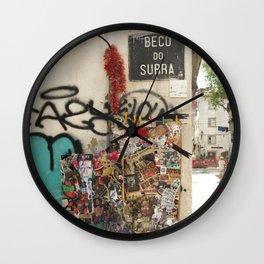 Lisbon Street Wall Clock