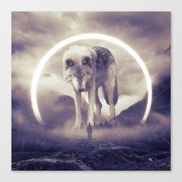aegis II | wolf Canvas Print