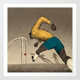 History of Football - 1962 Art Print