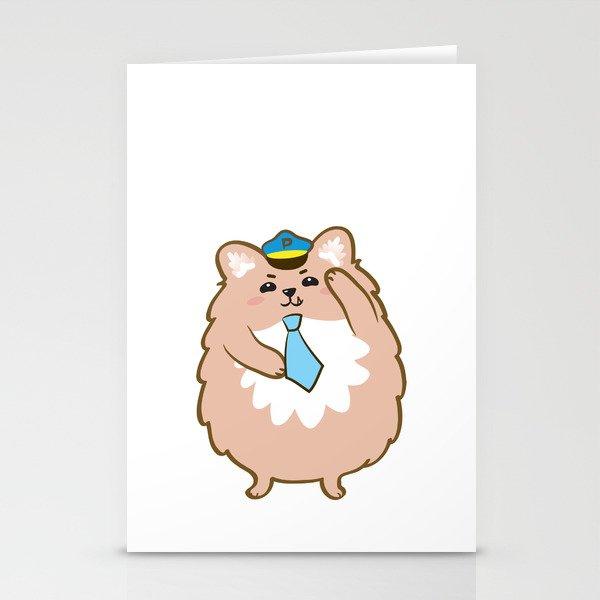 Animal Police - Pomeranian Stationery Cards