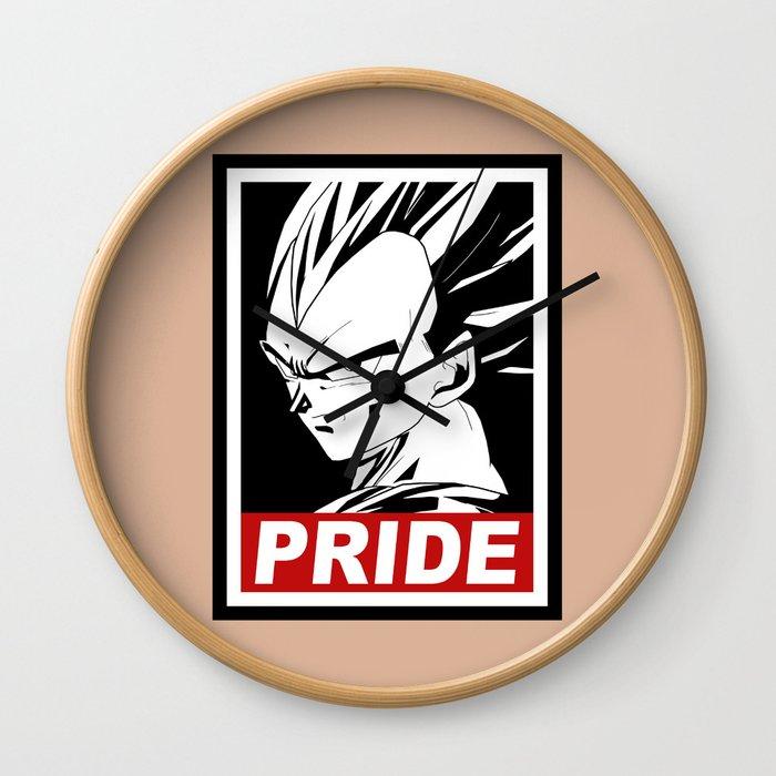Vegeta pride Wall Clock