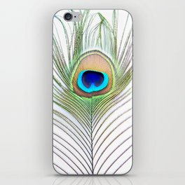 Eye of the Peacock iPhone Skin