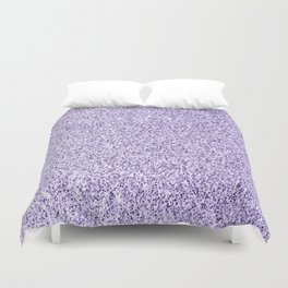 Ultra violet light purple glitter sparkles Duvet Cover