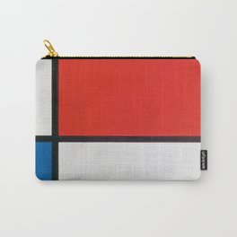 Mondrian's Composition II in Red, Blue, and Yellow (High Resolution) Carry-All Pouch