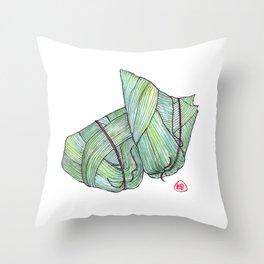 Zongzi Throw Pillow