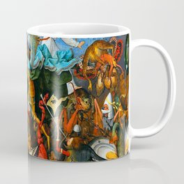 Pieter Bruegel the Elder Rebel Angels Coffee Mug
