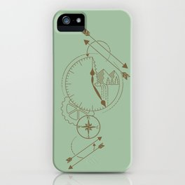 Vintage Time for Adventure iPhone Case