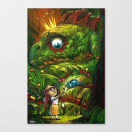 Lizard King Canvas Print