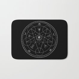 The Eye of the Witch Bath Mat
