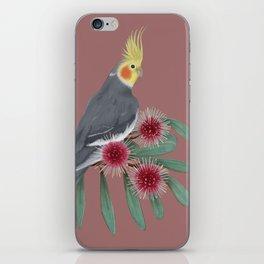 Normal Grey Cockatiel iPhone Skin