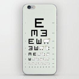 The EWE Chart iPhone Skin