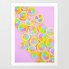 Unicorn Fruit Art Print