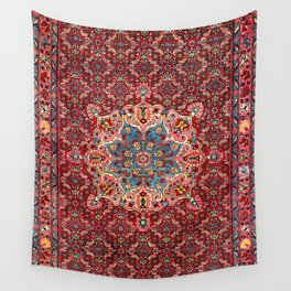 Bijar Kurdish Northwest Persian Rug Print Wall Tapestry