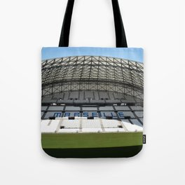 Le Velodrome OM Soccer Stadium in Marseille France Tote Bag