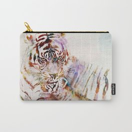 Tigress with Cub Carry-All Pouch