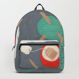 Knit Tea Backpack