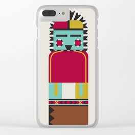 Kachina Dolls Clear iPhone Case