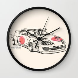 Crazy Car Art 0178 Wall Clock