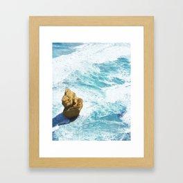 Great Ocean Road Apostle Framed Art Print