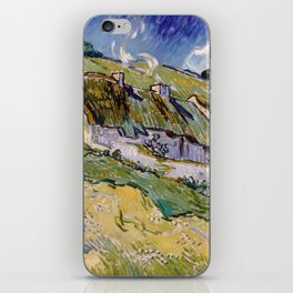 "Vincent van Gogh ""Cottages"" iPhone Skin"